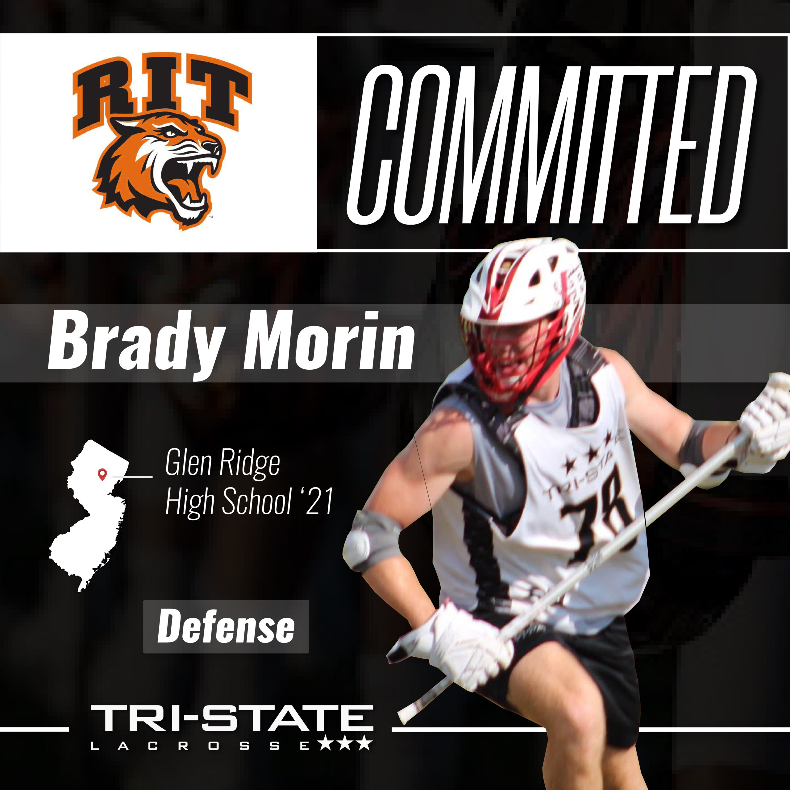 Brady Morin (Defense) Glen Ridge - RIT