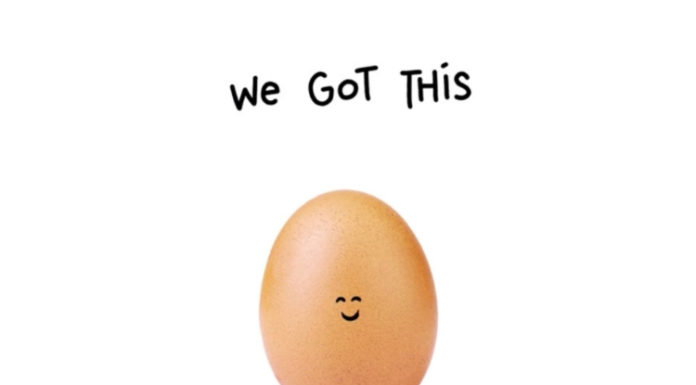 "Super Bowl Sunday Was The Perfect Stage To Market ""The World Record Egg"" With PSA About Mental Health"