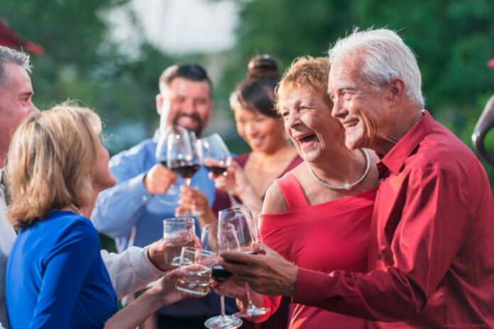 Alcohol may be less harmful for people