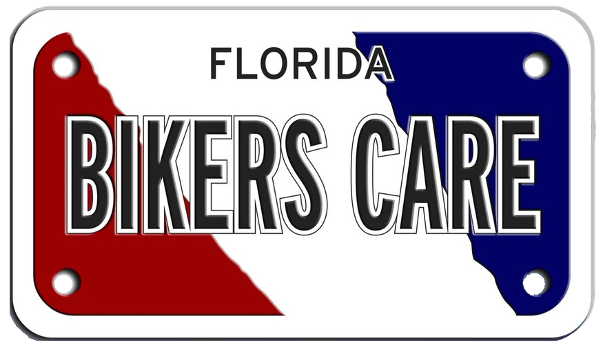 bikers care tag
