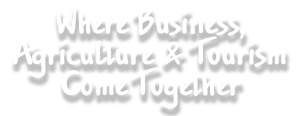 Where Business, Agriculture & Tourism Come Together