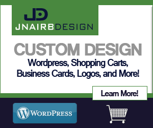 Custom Design, wordpress, shopping carts, business cards, logos and more.