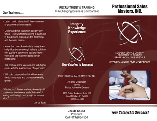 Professional Sales Masters - Your Catalyst to Success!