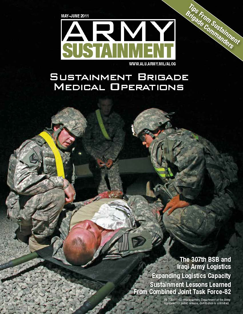 mayjun11 Army Sustainment Magazine