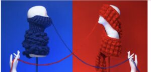 Knitting to the right & left