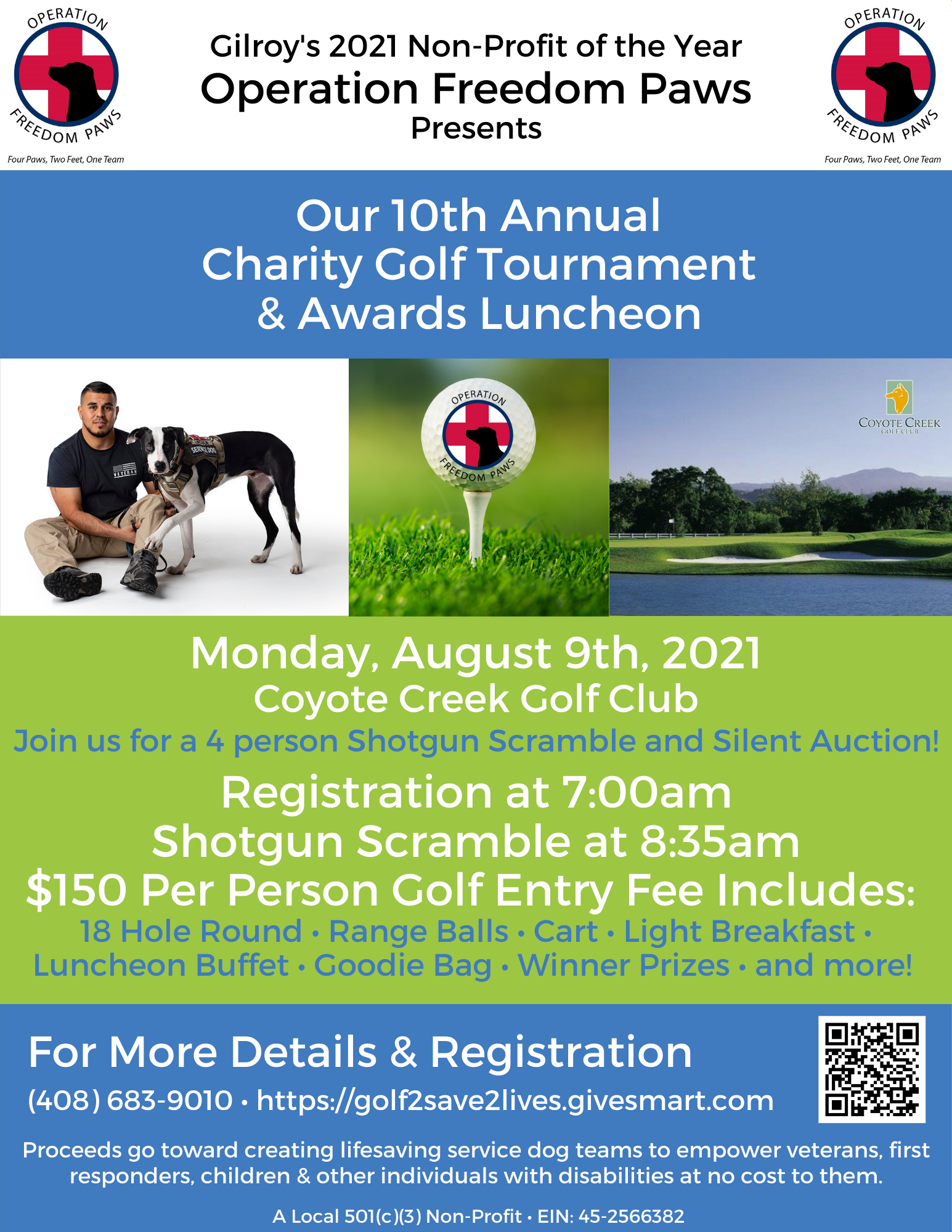 OFP 10th Annual Charity Golf Tournament & Awards Luncheon