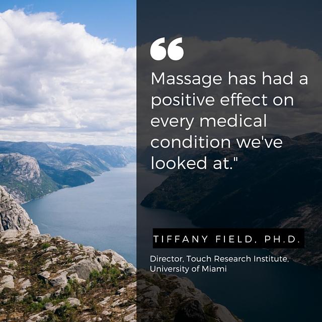 Massage Positive Effect