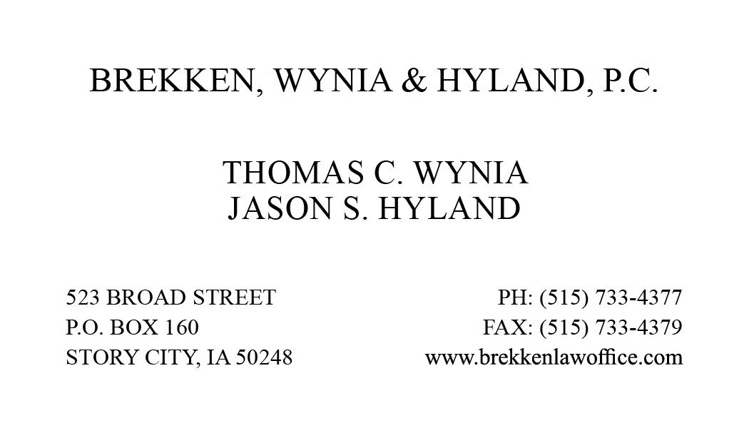 Brekken, Wynia & Hyland, P.C.