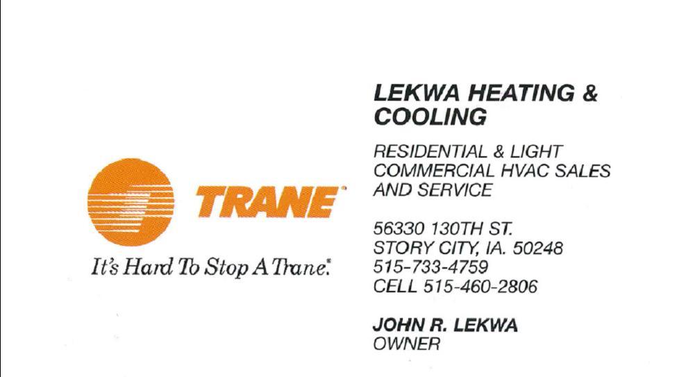 Lekwa Heating and Cooling