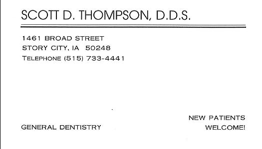 Scott Thompson D.D.S.