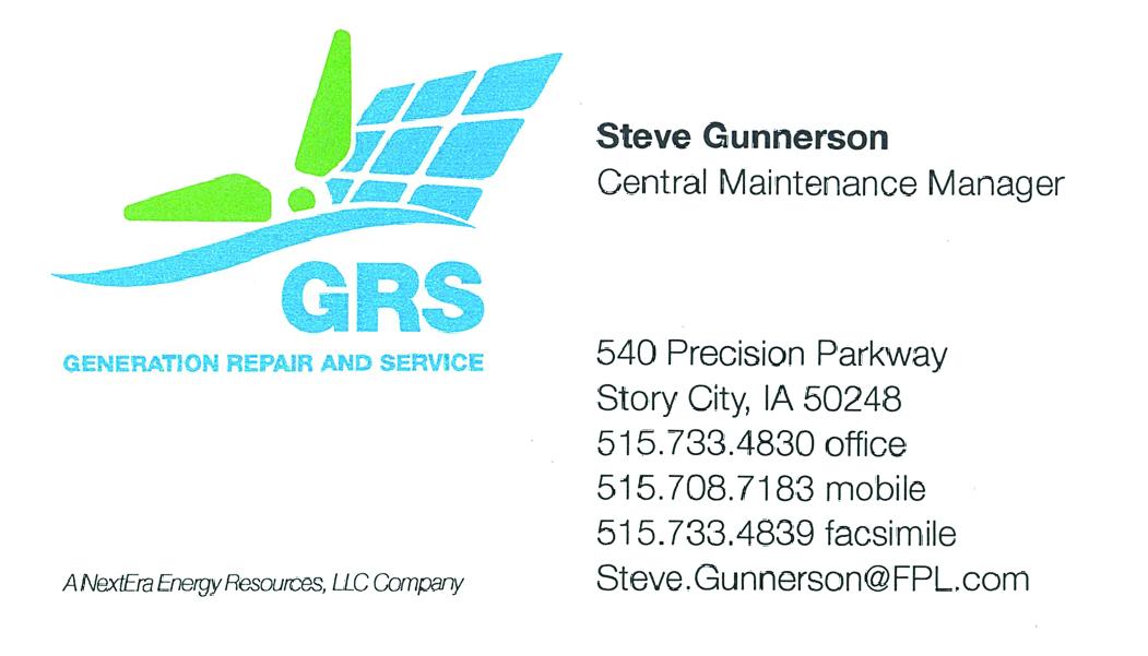 Generation Repair and Service / Nextera Energy