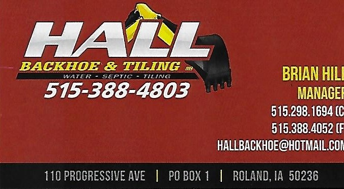Hall Backhoe & Tilling