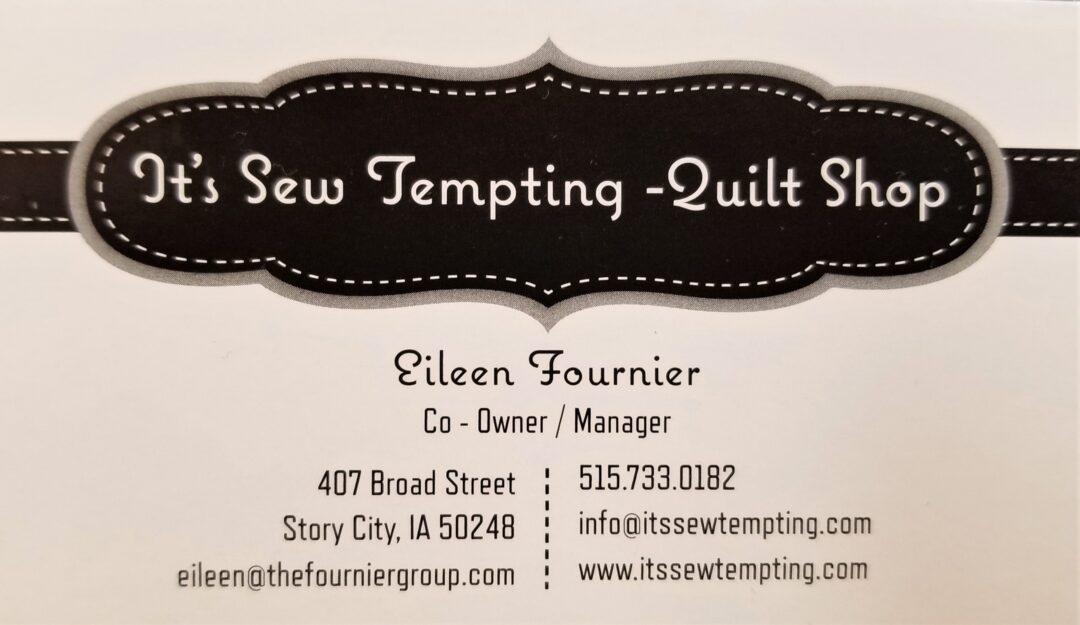 It's Sew Tempting