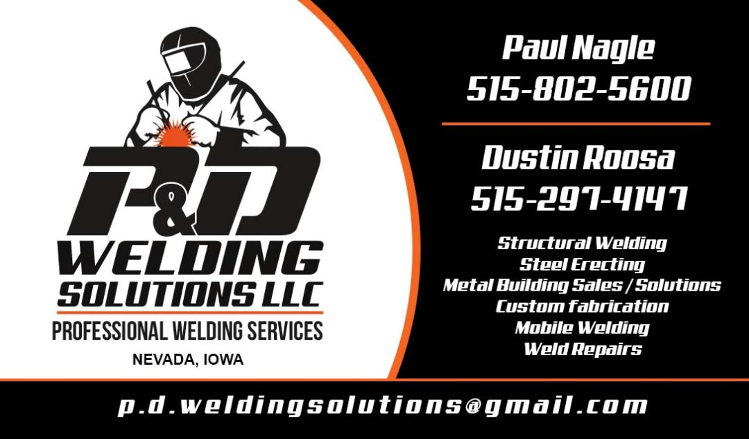 P&D Welding Solutions LLC