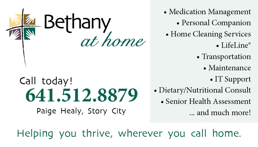 Bethany at home