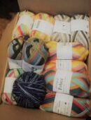 All the sock wool