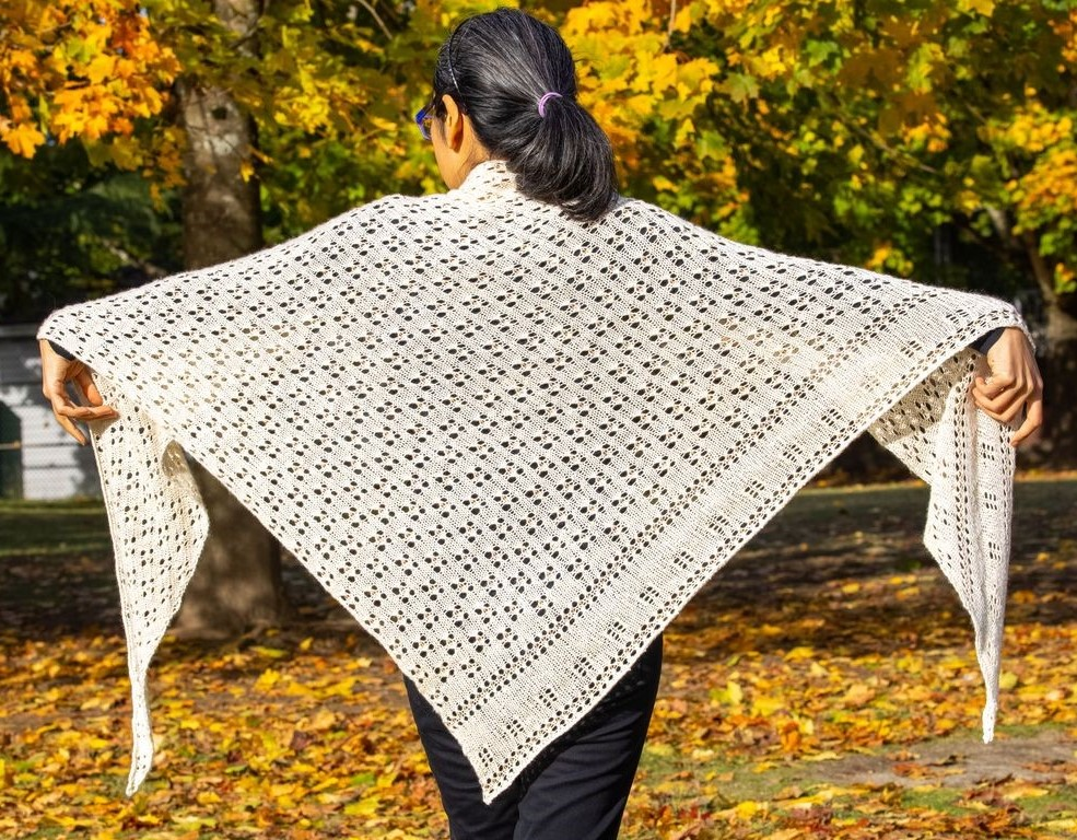 Bread and Roses Shawl