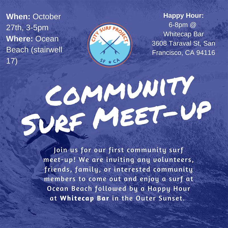 Community Surf Meet-Up