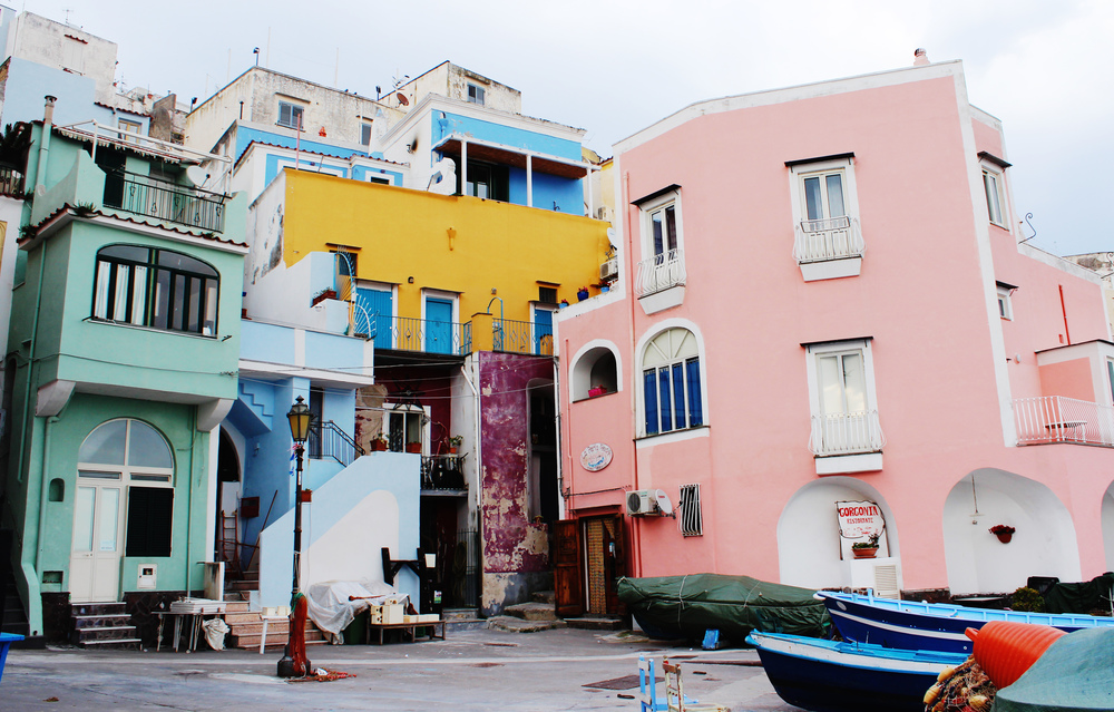 procida colourful italian islands wave provocateur