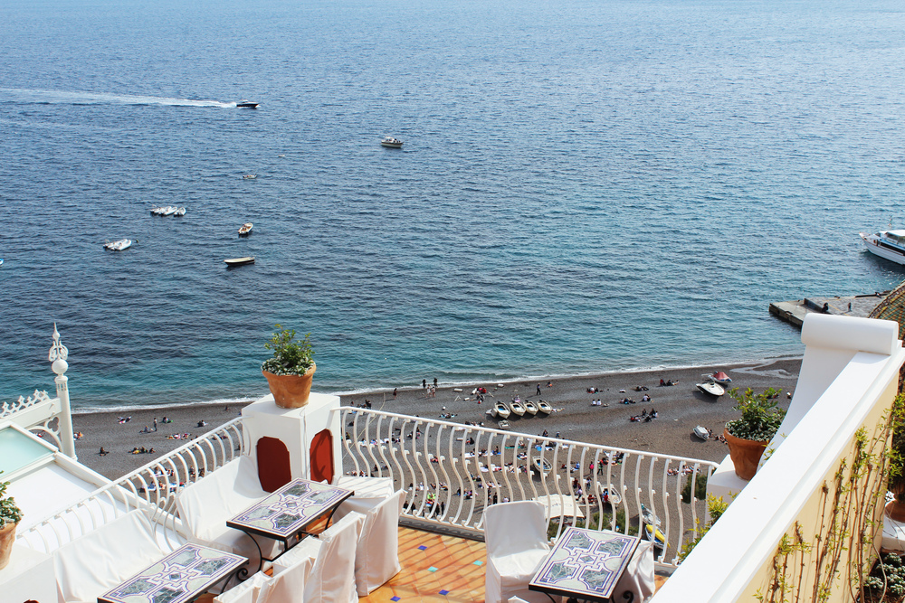 le sirènes hotels positano italy pool view beach