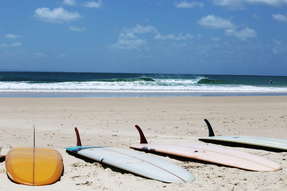 surfboards beach double island point wave provocateur