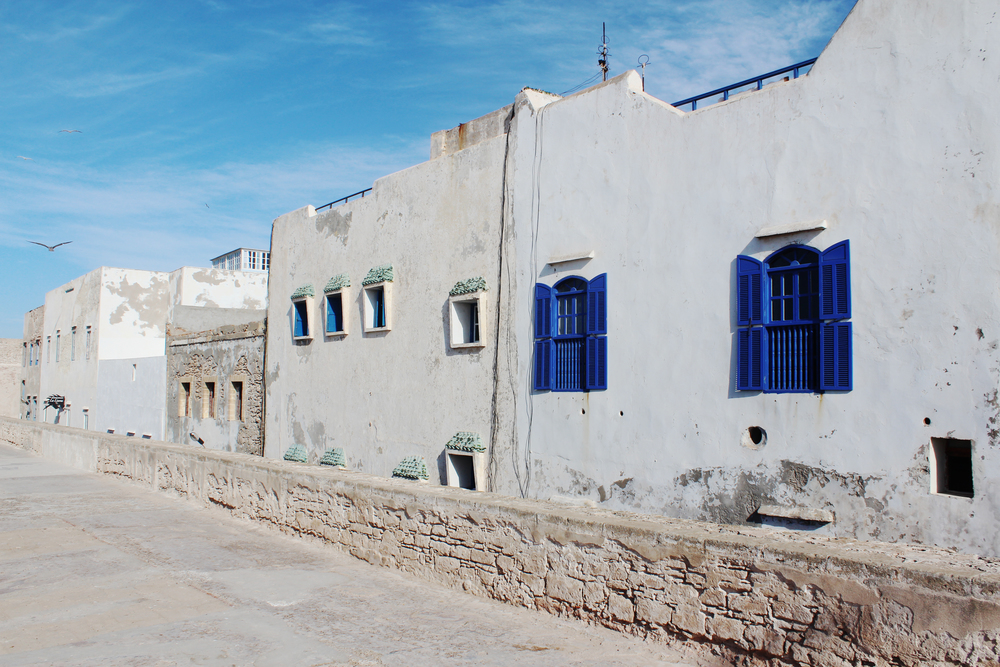 Coastal Morocco Essaouira building travel