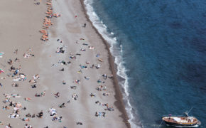 positano view travel italy beach wave provocateur