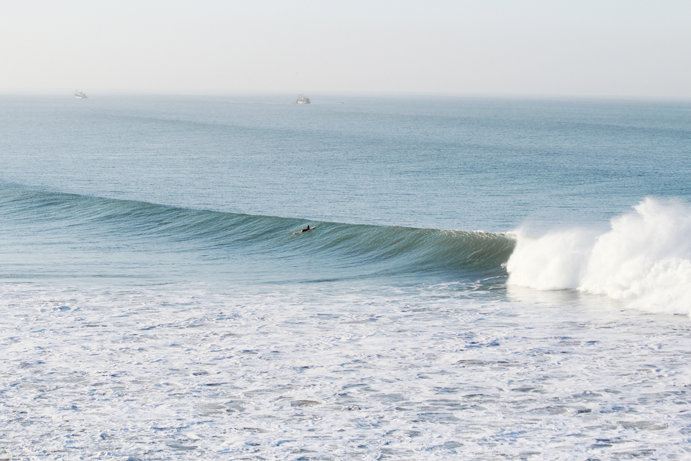 bree warren surfing banana point morocco
