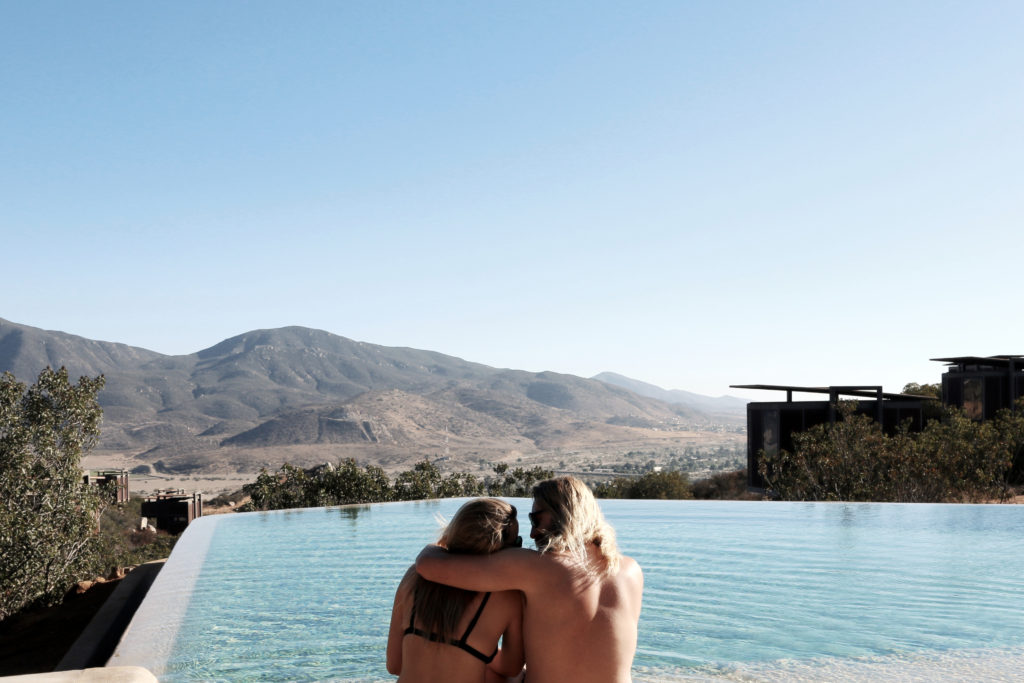 the wave provocateur hotel encuentro guadalupe mexico winery bree warren mitch mccann couple