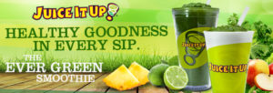 Juice it Up! Green launch with creative marketing agency in costa mesa