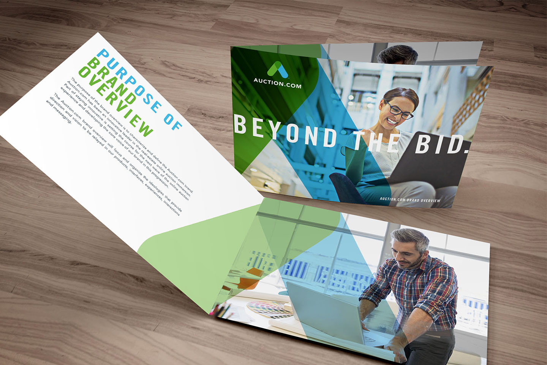 Auction.com tagline campaign launch creative marketing agency Blue C