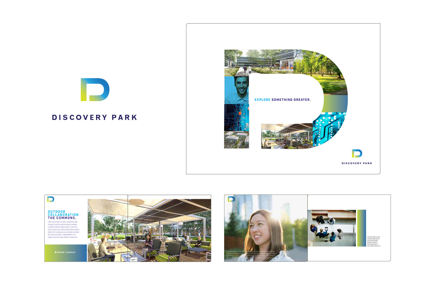 Branding campaign for Orange County commercial real estate development