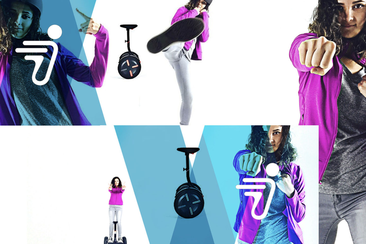 Segway electric transportation campaign for CES Show in Las Vegas