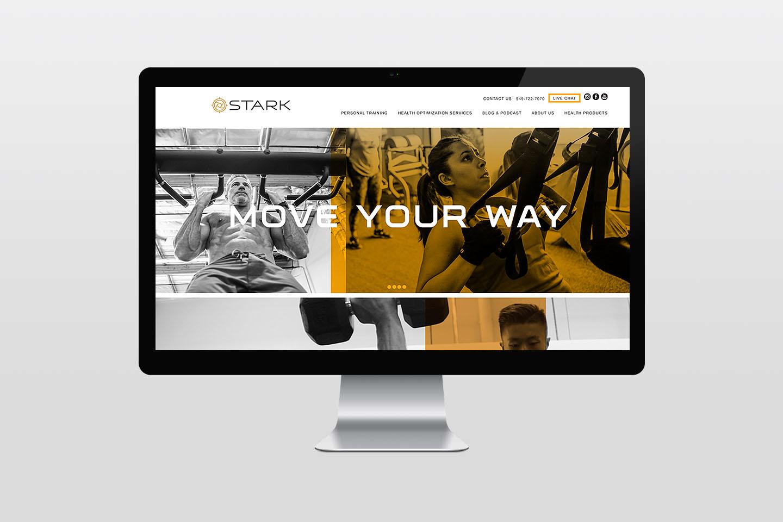 Stark Irvine and Newport Beach website development by creative marketing agency