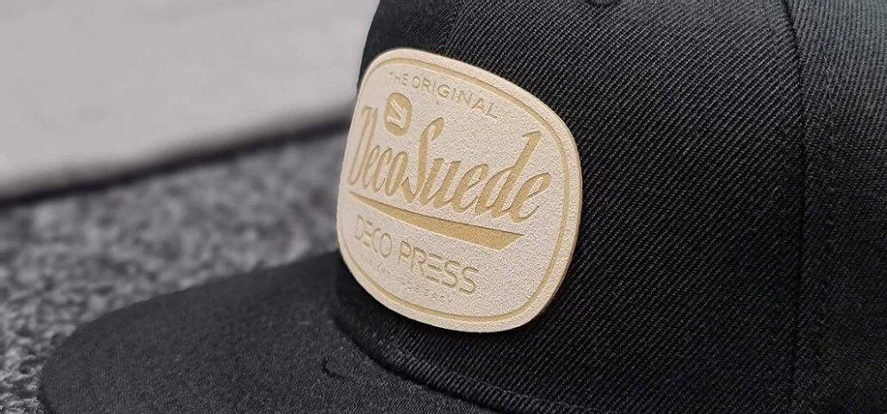Deco press suede hat