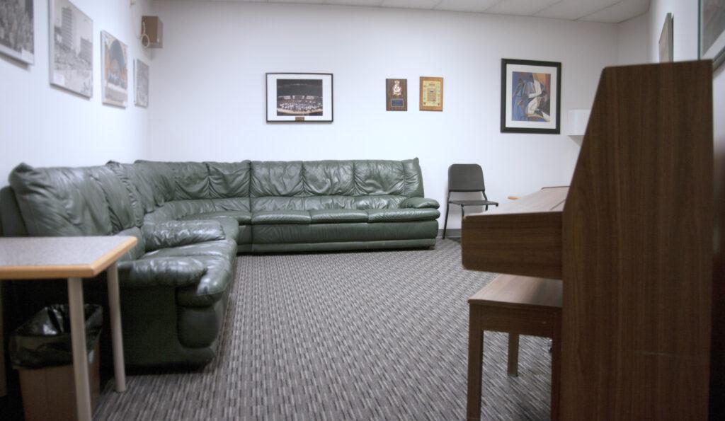 green room interior
