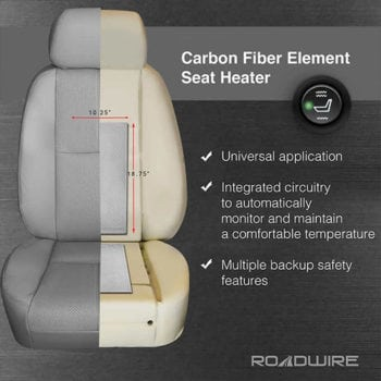 Roadwire Carbon Fiber Heated Seats