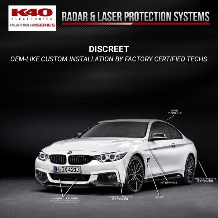 K40 Discreet