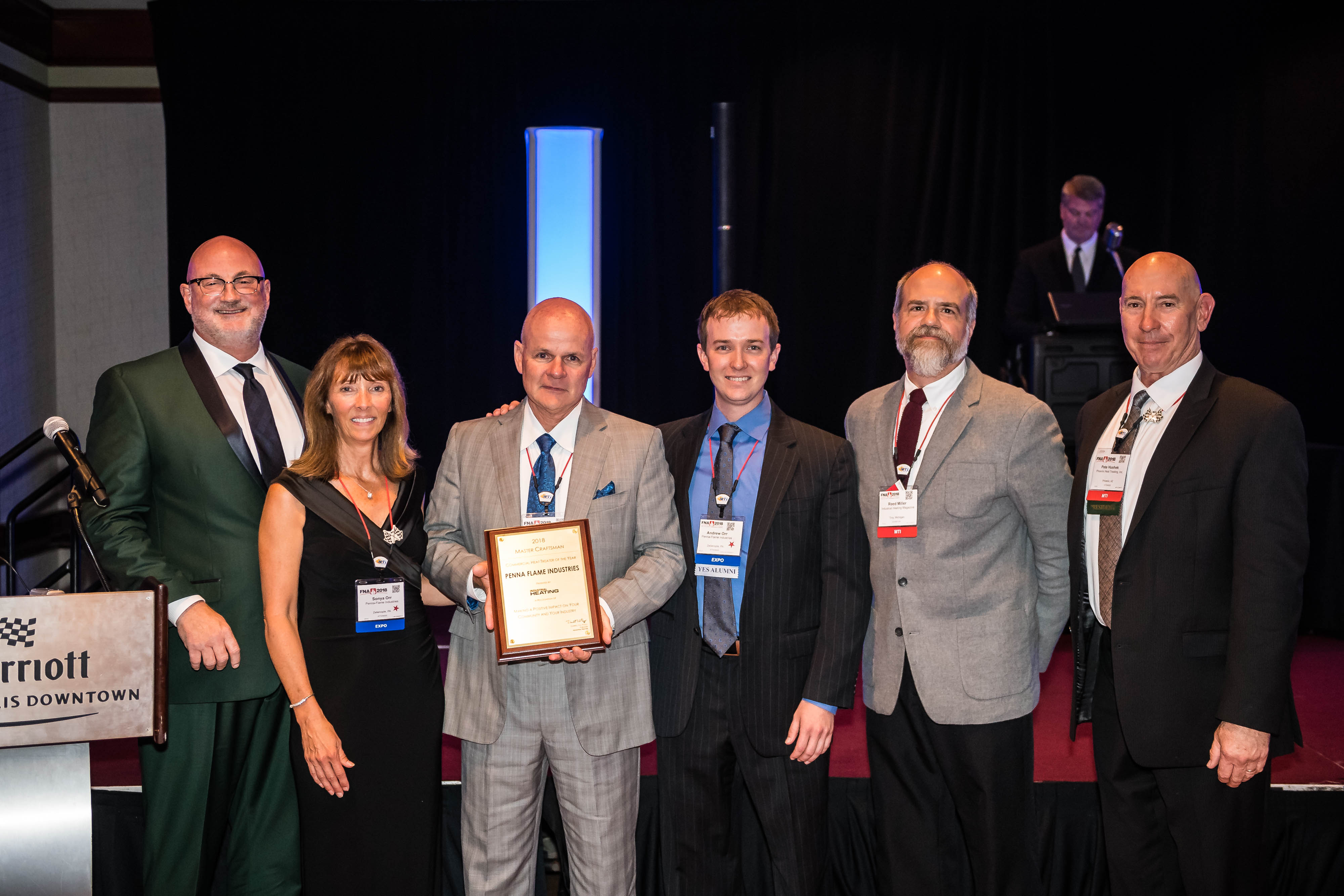 2018 Commercial Heat Treater of the Year Winner