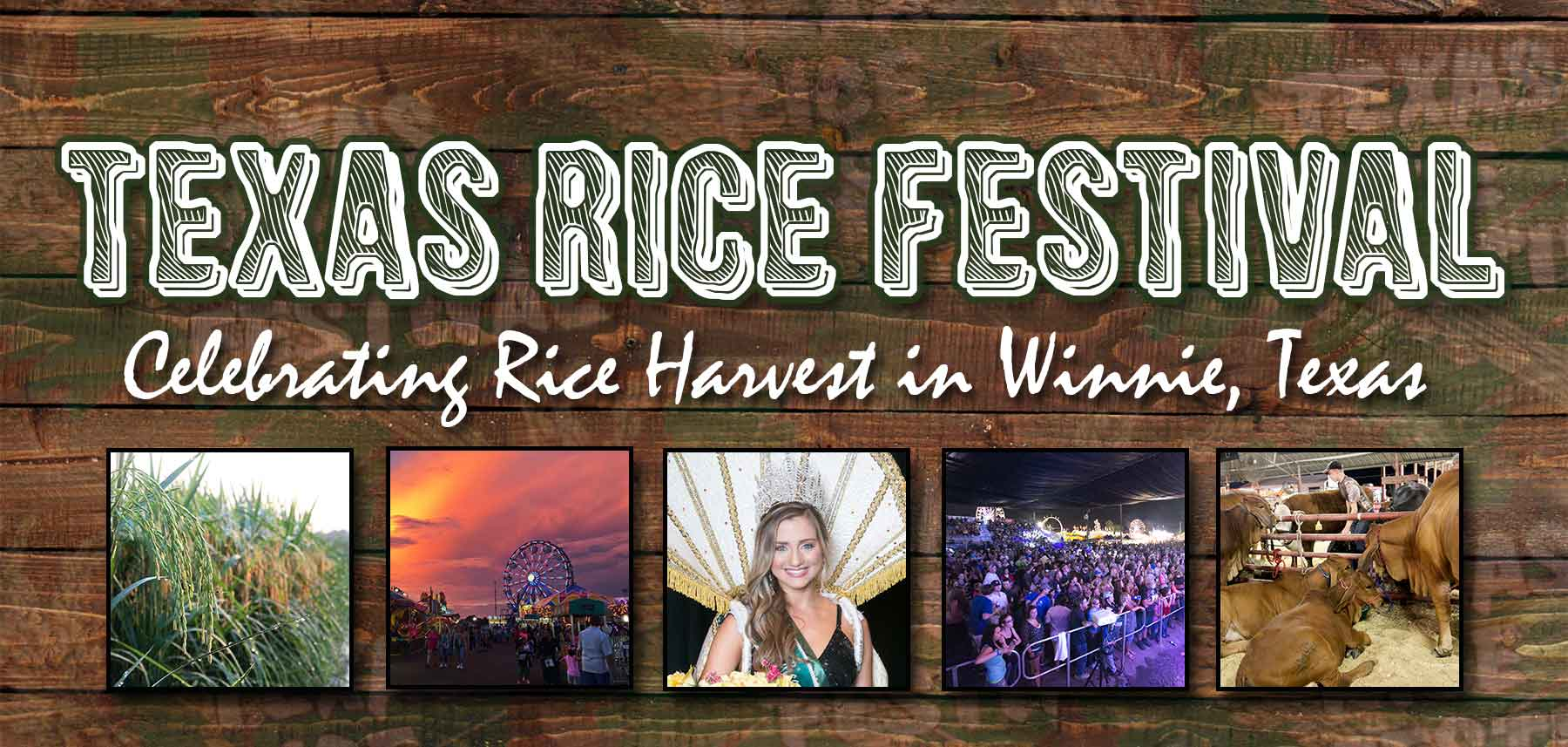 50th Annual Texas Rice Festival in Winnie, Texas