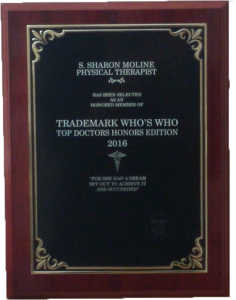 2016 PREMIER PHYSICAL THERAPY NAMED AS WHO'S WHO TOP DOCTOR