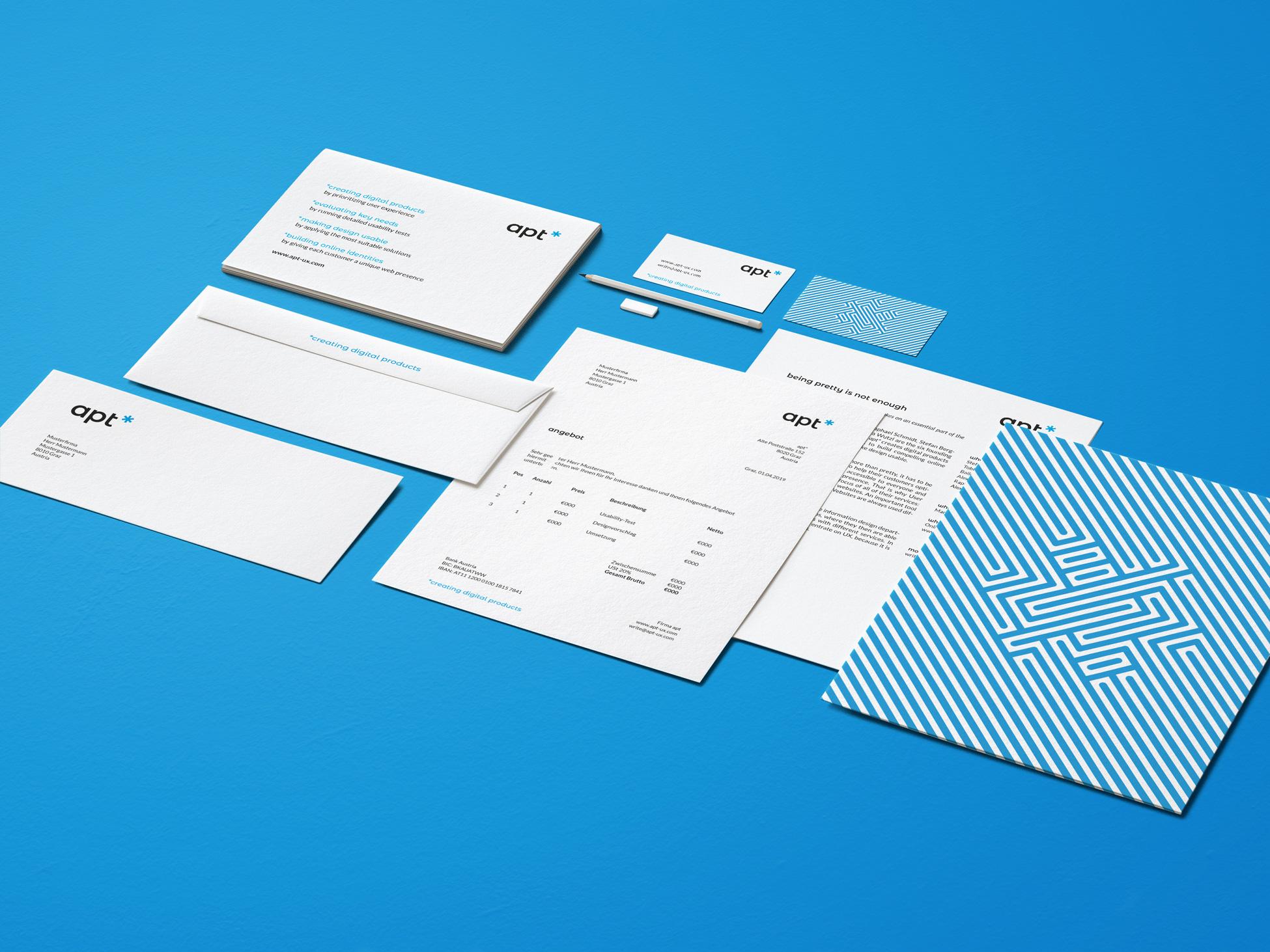 APT* | corporate identity