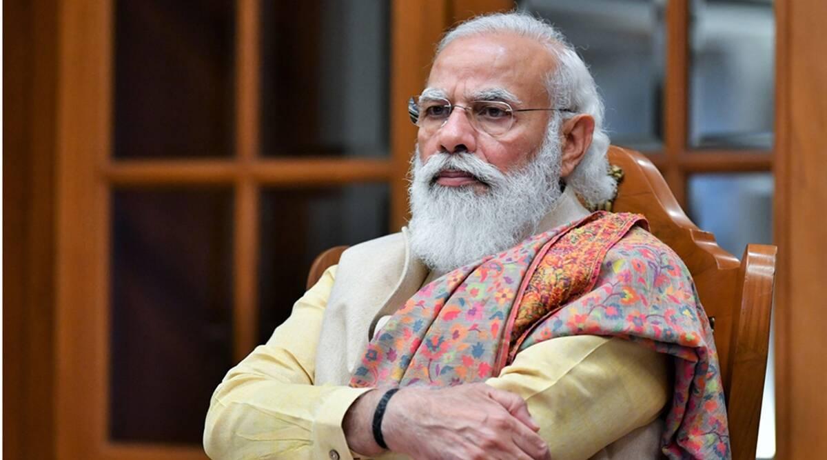 Prime Minister Narendra Modi, Narendra Modi on health and fitness, Narendra Modi on wellness, Narendra Modi on heartfulness, Narendra Modi yoga and meditation, Narendra Modi Ayurveda, Narendra Modi speech on spirituality, indian express news