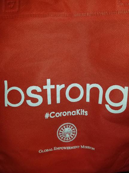 bstrong #CoronaKits bag