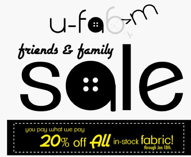 U-Fam Friends and Family Sale
