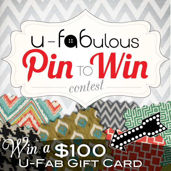 U-Fabulous First Ever Pin to Win Contest