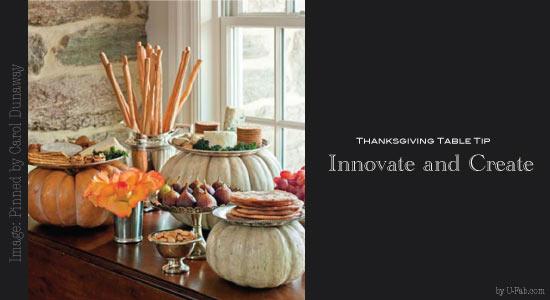 U-Fabulous Thanksgiving Table Tips