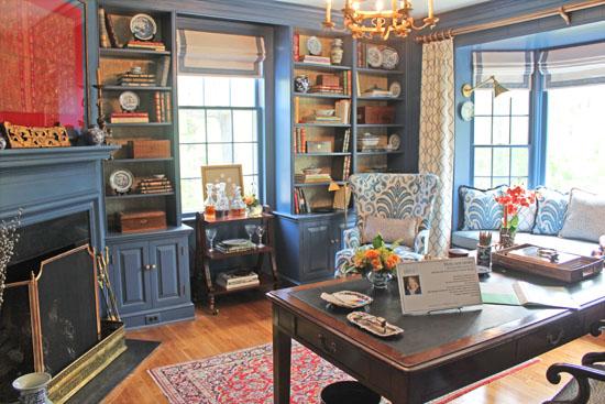 The Foyer & Blue Den – 2014 C-Ville Design House