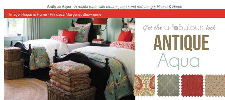 Ufabulous Design Room: Antique Aqua