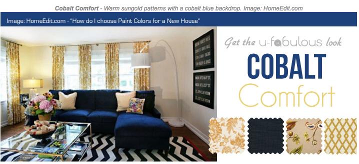 Ufabulous Design Room: Cobalt Comfort